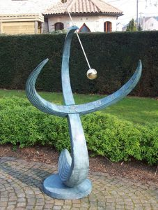 Fine Cast Bronze Armillary Sphere Arrow Sundial Large Garden