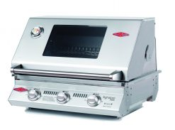 Beefeater BS12830 Signature S3000S Series 3 Burner Stainless Steel BUILT IN BBQ Only (cast iron pack)