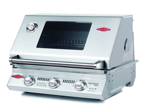 BS12830 Beefeater Signature S3000S Series 3 Burner Stainless Steel BUILT IN BBQ Only (cast iron pack) 1 | Avant Garden