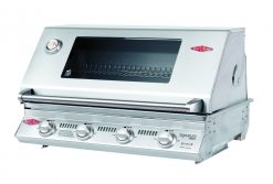 BS12840 Beefeater Signature S3000S Series 4 Burner Stainless Steel BUILT IN BBQ Only (cast iron pack)