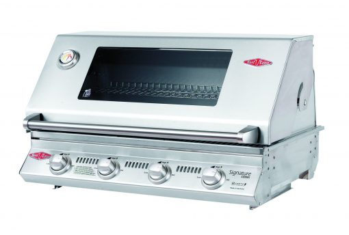 BS12840 Beefeater Signature S3000S Series 4 Burner Stainless Steel BUILT IN BBQ Only (cast iron pack) 1 | Avant Garden