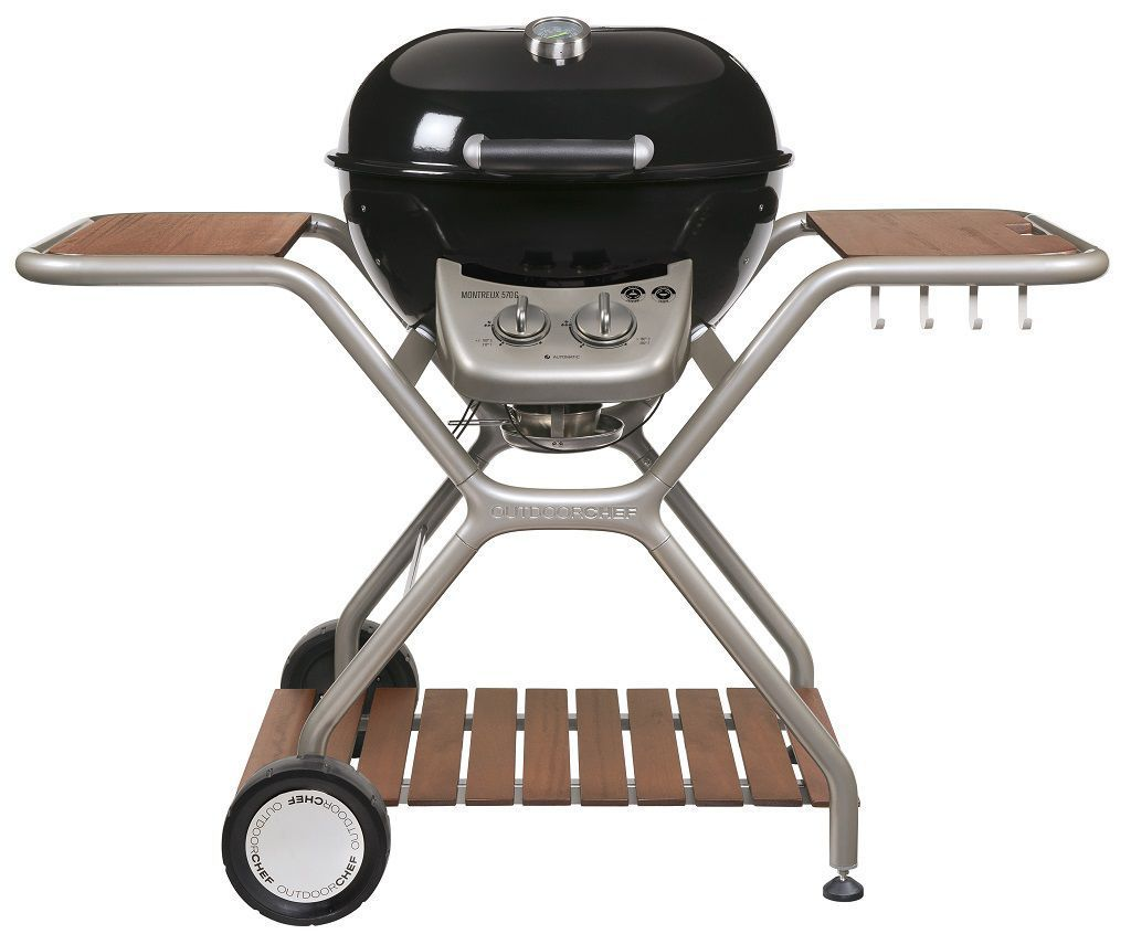 18 127 98 OutdoorChef Gas Barbecue Grill Montreux 570G Black 2 | Avant Garden