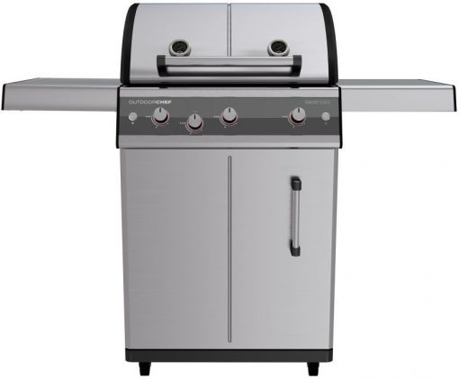 18 700 04 Outdoorchef Dualchef Trolley Cabinet Gas Barbecue S 325G