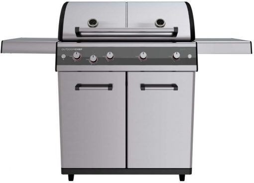 18 700 10 Outdoorchef Dualchef S 425 G Gas Barbecue Trolley Cabinet