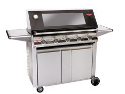 Beefeater Signature S3000E 5 Burner BS19252 Stainless Steel BBQ & Designer Side Burner Trolley