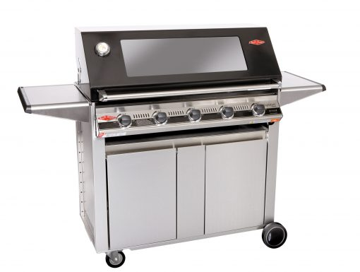 Beefeater Signature S3000E Series5 Burner Stainless Steel BBQ & Designer Side Burner Trolley 1