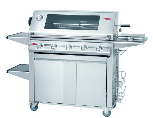 Beefeater Signature S3000S Series 5 Burner Stainless Steel BBQ & Side Burner Trolley (Stainless Steel Pack) 1 | Avant Garden