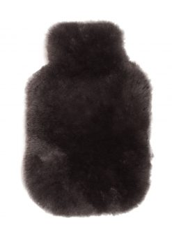 Owen Barry Luxurious Sheepskin Mole Hot Water Bottle Cover Long Wool Luxe