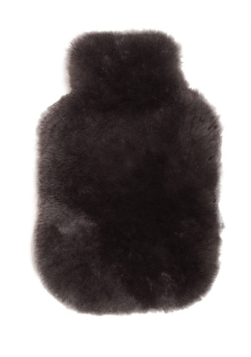 Owen Barry Luxurious Sheepskin Mole Hot Water Bottle Cover Mole Long Wool Luxe 1