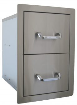 Beefeater BS24200 Outdoor Built In Double Drawer