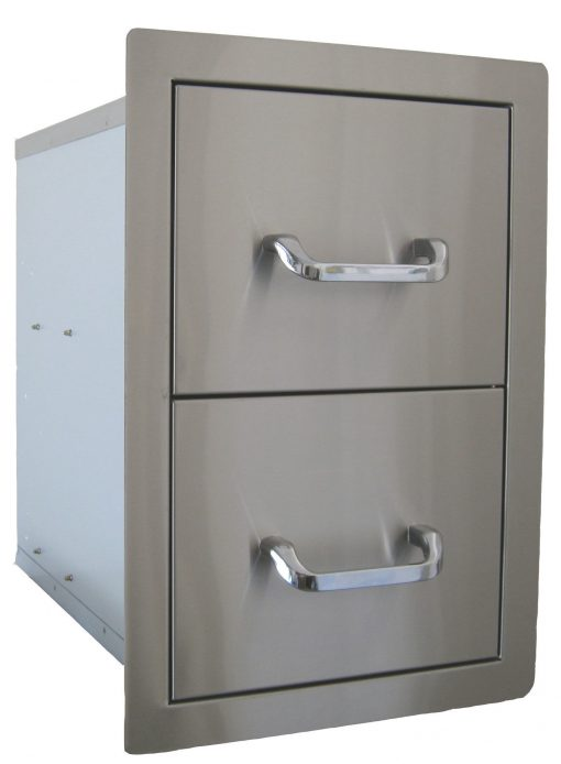BS24200 Beefeater Built In Double Drawer 1 | Avant Garden