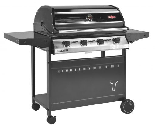 Beefeater Discovery 1000R Series4 Burner BBQ & Standard Trolley 1