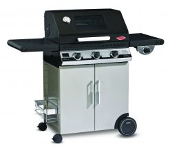 Beefeater BD47832 Discovery 1100E Series 3 Burner BBQ with Stainless Steel Cabinet with Side Burner
