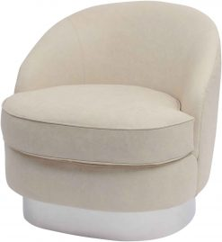 Gatsby Wooster Cappuccino Leather Occasional Chair Large