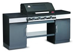 Beefeater BD79542 Discovery 1100E Gas Barbecue Outdoor Kitchen??4 Burner Complete
