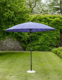 84609 Exotic Eastern Style Purple Umbrella 270cm 1 | Avant Garden