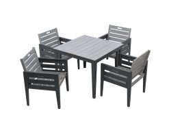 89001 89002 81001 English Garden Range Dining Set Grey 1 Avant Garden Guernsey