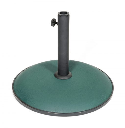 91362 Concrete Parasol Base Colour Green 15kg 3 Avant Garden Guernsey