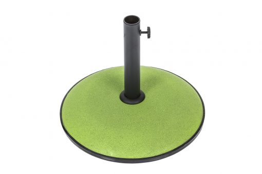 91367 Concrete Parasol Base Colour Lime 15kg 1 Avant Garden Guernsey