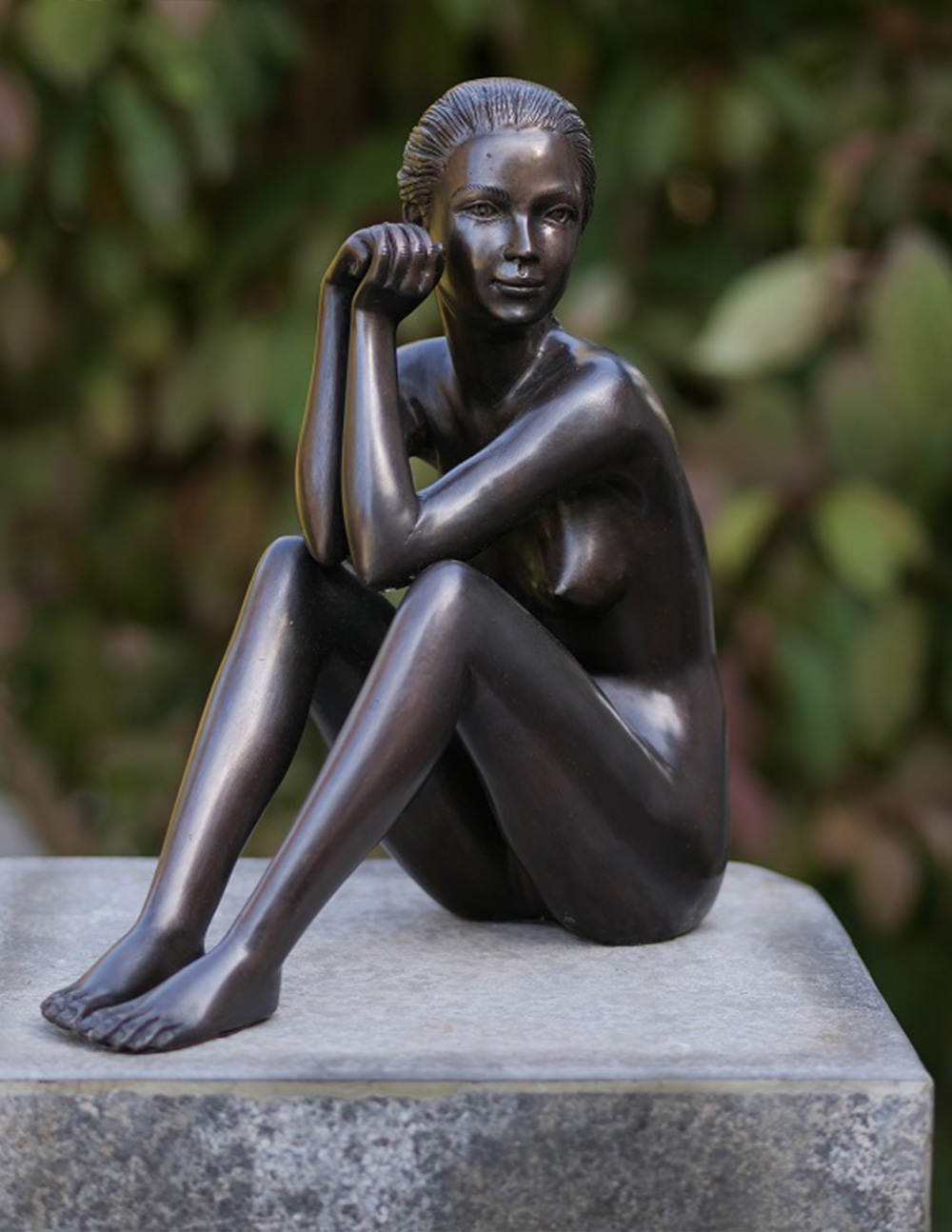 FIWO 10 Dawn Fine Cast Solid Bronze Sculpture Nude Woman 30cm 1 | Avant Garden