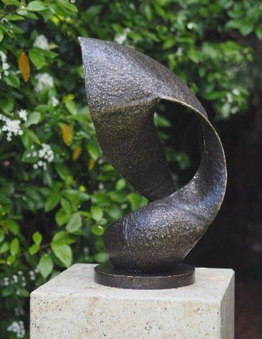 MO 8 Solid Bronze Sculpture Modern Wave 1 | Avant Garden