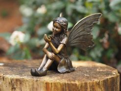 Bronze Fairy Sittind Down