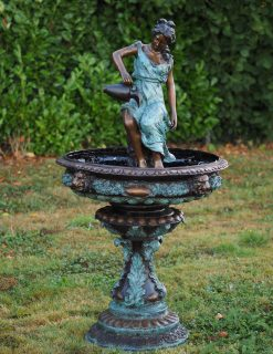 FO 66 Bronze Sculpture Classic Lady Fountain | Avant Garden Guernsey