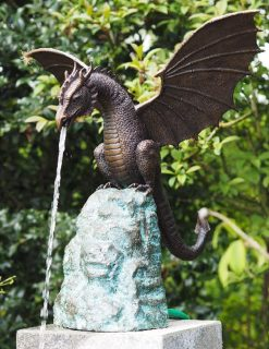 FO 14 Bronze Sculpture Dragon Fountain | Avant Garden