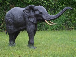 WI 40 Lifesize Elephant Solid Bronze Fountain Water Feature 1 | Avant Garden