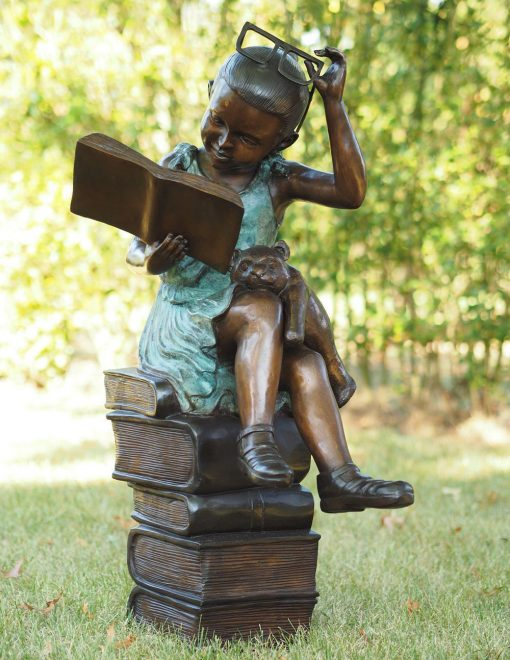 Fine Cast Bronze Sculpture Academic Girl 1 | Avant Garden