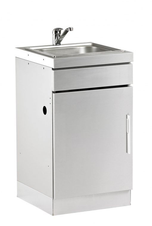 BD77010 Beefeater Discovery 1100S Series Outdoor Kitchen Sink Cupboard 1 | Avant Garden