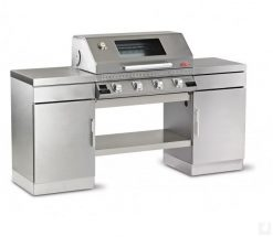 Beefeater BD79640 Discovery 1100S Gas Barbecue Stainless Steel Outdoor Kitchen 4 Burner Complete