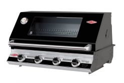Beefeater Signature S3000E 4 Burner Built In Gas BBQ - Black (Built In BBQ Only)