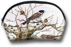 Make up Bag Branch and Bird