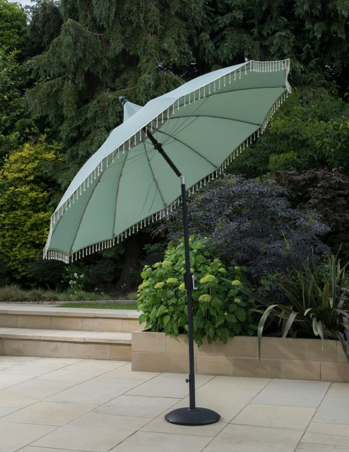 New Fringed Garden Parasol 2