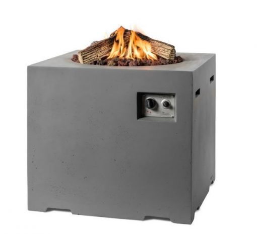 SRS4001A Happy Cocooning Cocoon Small Square Gas Fire Pit 4 | Avant Garden Guernsey