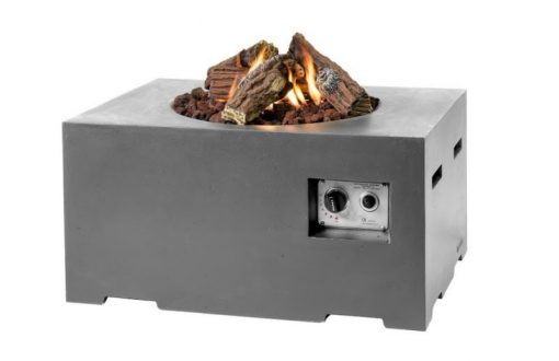 Happy Cocooning Rectangular Cocoon Gas Fire Pit 1