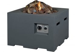SRS6504A Happy Cocooning Cocoon Large Square Gas Fire Pit | Avant Garden Guernsey