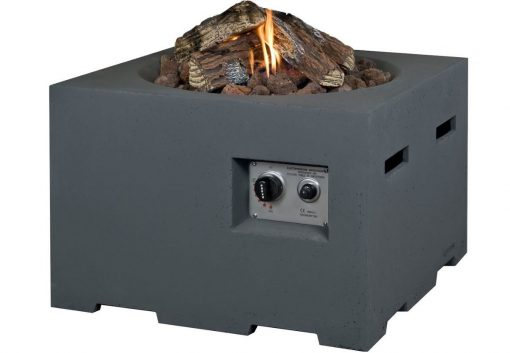 SRS6504A Happy Cocooning Cocoon Large Square Gas Fire Pit 7 | Avant Garden Guernsey