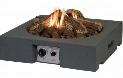 Happy Cocooning Cocoon Square Table Top Gas Fire Pit