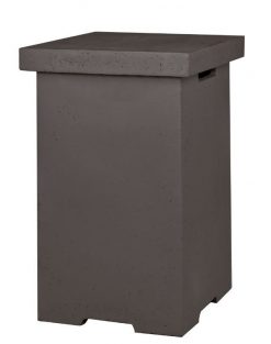 Happy Cocooning Enclosure Side Table LPG Square Grey