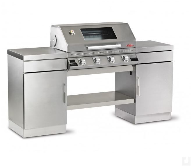 Beefeater Discovery Gas Barbecue 1100S Series Stainless Steel Outdoor Kitchen 4 Burner Complete