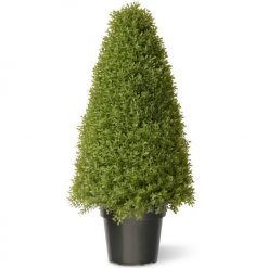 Buxus Boxwood Topiary Artificial Tree - 48""