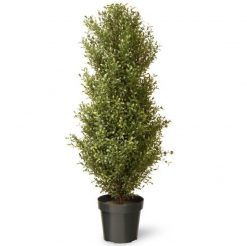 Artificial Argentea Topiary Potted Plant - 48""