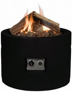 Happy Cocooning Cocoon Round Gas Fire Pit