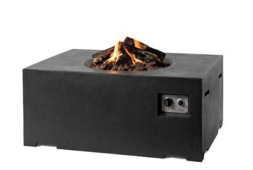 SRS6510Z Happy Cocooning Rectangular Cocoon Gas Fire Pit 5 | Avant Garden Guernsey