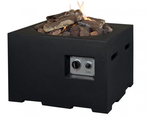 SRS6504Z Happy Cocooning Cocoon Large Square Gas Fire Pit 6 | Avant Garden Guernsey