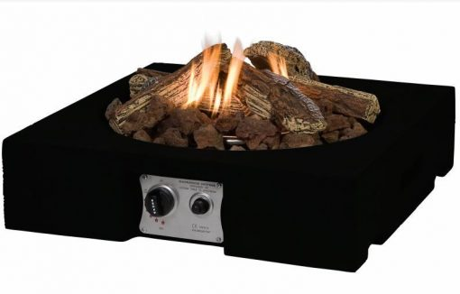 SRS6501TZ Happy Cocooning Cocoon Square Table Top Gas Fire Pit 4 | Avant Garden Guernsey