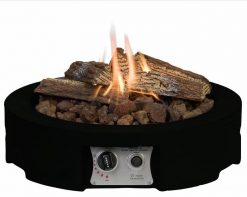 SRR6501TZ Happy Cocooning Cocoon Round Tabletop Gas Fire Pit | Avant Garden Guernsey