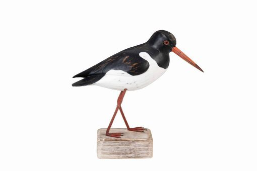 D207 Archipelago Wooden Birds Hand Carved Oyster Catcher Looking Down 1 | Avant Garden